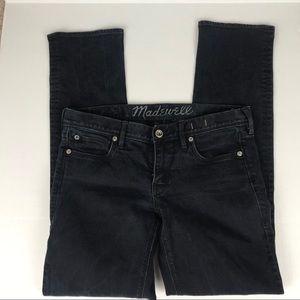 Madewell Dark Wash Straight Leg Jeans Size 28x32